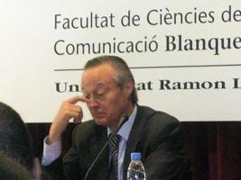 Josep Piqué, a Blanquerna