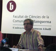 Joan Saura, candidat d'ICV